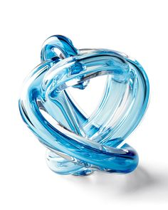 Blue Knot Sculpture
