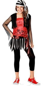 teen girls pirate lass pirate costume teen costumes weekly ad holiday parties - Teenage Girl Pirate Halloween Costumes