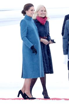Kate Middleton Meeting Norway's Princess Mette-Marit Is Giving Us Serious Elsa and Belle Vibes