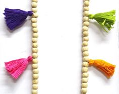 FREE SHIPPING Summer Boho multi tasselled long Necklace/ seed