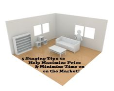 5 Staging Tips to Help Maximize Price & Minimize Time on the Market!