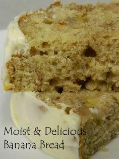 Moist & Delicious Banana Bread