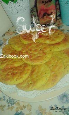 خبز العيد او خبز الفلسطيني  معجنات معجنات حلوة