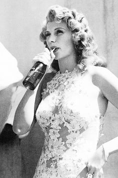 vintagegal:Rita Hayworth on the set of You Were Never Lovelier (1942)