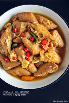 <p>I like simple dishes like this for my everyday meal. Generally, I can finish prepping to cooking this dish within the time requires for my rice cooker to finish cooking my rice, which is a huge plus in my book.  I buy my tofu already fried, saving a lot …</p>