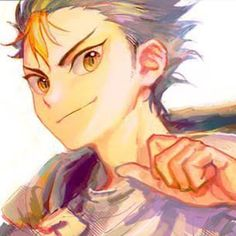 Nishinoya Yū [Karasuno]    Anime: Haikyuu!!        Character by Haruichi Furudate     Artwork not by me