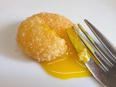 architettando in cucina: Tuorlo d'uovo croccante di Carlo Cracco