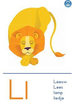Free Preschool, Preschool Worksheets, Afrikaans Language, Letter L, Pre Writing, Science For Kids, Spelling, Fictional Characters, Art