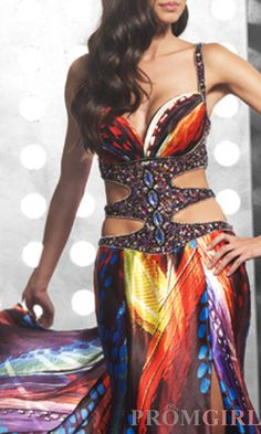 Advertised as a prom dress. I think Belly Dance costume.