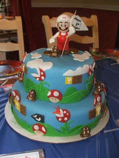 Community Post: 57 Awesome, Terrifying, And Endearing Super Mario Cakes