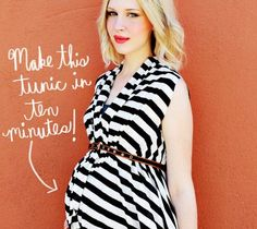 19 Maternity Pieces You Can #DIY | @Disney Baby