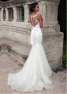 Vestidos de boda sirena / trompeta