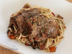 Red Wine Braised Beef Tongue <br> {Electric Pressure Cooker Recipe}
