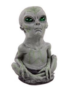 This is really cute.  I would name him Fox Mulder.  lol Alien Baby
