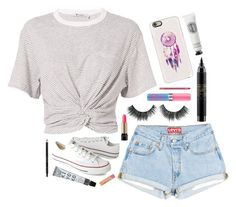 """""""~ Dream Catcher ~"""" by barbiecar ❤ liked on Polyvore featuring T By Alexander Wang, Converse, Casetify, MAC Cosmetics, Charlotte Russe, Diptyque, Gucci and Lancôme"""