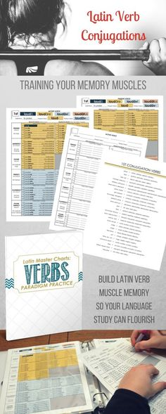 Latin Verb Conjugation Muscle Memory Conditioning - Family Style Schooling