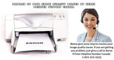 Problem of poor image quality solved by Xerox Printer Support Canada? - xeroxprintersupportca's diary S Diary, Just Giving, Printer, Canada, Tech Support, Teaching, Number, Image, Tips