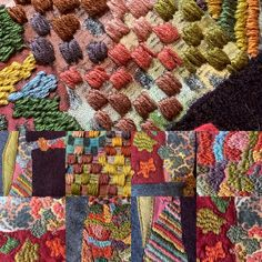 Fabric Art, Embroidery Stitches, Stitching, Textiles, Quilts, Blanket, Artists, Embroidery, Costura