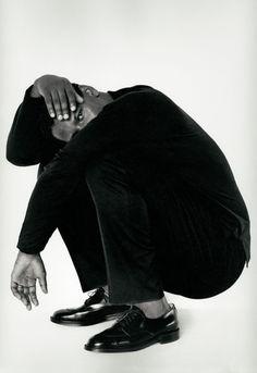 Year: 1990 Models: Denzel Washington Photographer: Herb Ritts