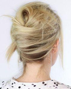 50 coiffures simples et rapides à faire après le sport