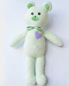 Ursuletul inimos  #Huggables  handcrafted by Pravalia cu Papusi Teddy Bear, Toys, Animals, Character, Activity Toys, Animales, Animaux, Clearance Toys, Teddy Bears