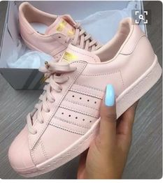 Wheretoget - Light pink Adidas sneakers