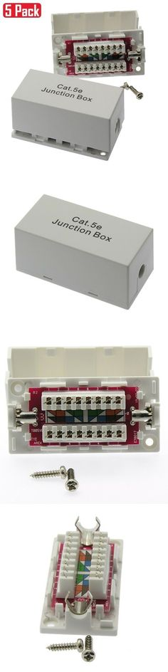 100 X Beige Keystone Jack CAT5e Network Ethernet 110 Style Punch Down 8P8C RJ45