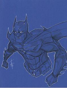Batman by Hodges-Art on DeviantArt