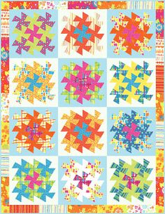 Moda... the Cutting Table: Quilt Moments - Twister Quilt patterns and layouts