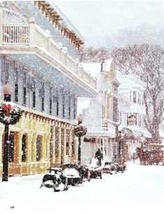 Mackinac Island MI at Christmas
