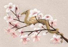 japanese dragon and cherry blossum | Dragon Multimedia is a small shop in Banani district of Dhaka that ...