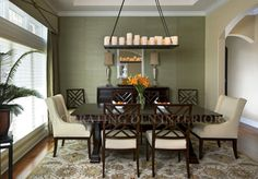 Dining Rooms Before and After Gallery | Decorating Den Interiors®