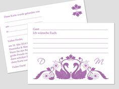 """Ballonflugkarten zur Hochzeit (A6) aus unserer Kollektion """"Dominika"""".  Die Karten haben ein Format von 14,8x10,5cm, eine Grammatur von 170g/m² und eine Karte wiegt 2,7g. In einer Packung sind 50 Ballonflugkarten."""