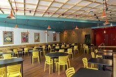 RESTAURANTE CANTEIRO -SANTOS SP Projeto do escritório Felipe Torelli Arq. e Design #Design industrial