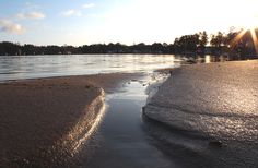 Golden Sand on Nauvo harbour's beach