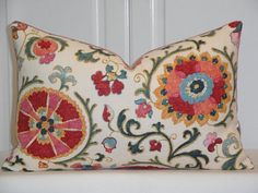Hey, I found this really awesome Etsy listing at https://www.etsy.com/listing/567383425/decorative-pillow-cover-suzani-throw