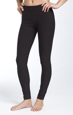 Zella Leggings: EVERY woman should have at least one pair of these in her wardrobe. #nordstrom #zella