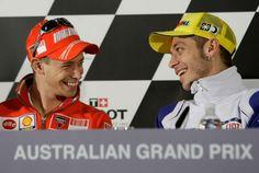 """MotoGP - Casey Stoner: """"O Mundial sem Valentino Rossi seria menos interessante"""""""