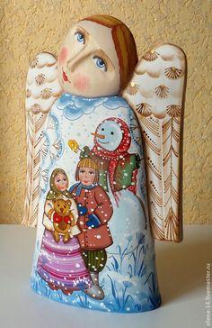 Ангел - ангел,авторская ручная работа,рождественский подарок,рождественский ангел