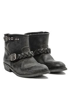Golden Goose Deluxe Brand Biker Boot in Black