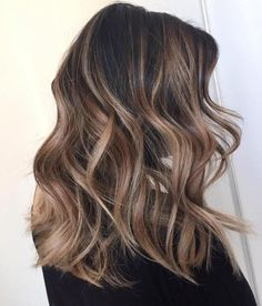 Light Brown Balayage For Brunettes