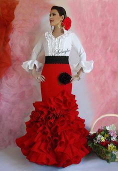 LOLAYLO  TRAJES DE FLAMENCA Y FALDAS DE SEVILLANA 40d52d9c2189