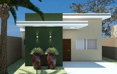 Fachadas de Casas Pequenas: 50 Ideias, Dicas e Projetos incríveis!