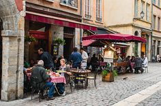 Lyon, the gastronomical capital of France! #travel #rivercruise #food