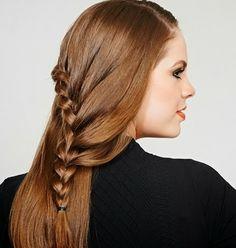 Cabelos - Penteados de tranças para festas
