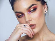 LizSanez, LindaHallberg, makeup, saffron love