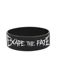 Escape The Fate You're Insane Rubber Bracelet   Hot Topic