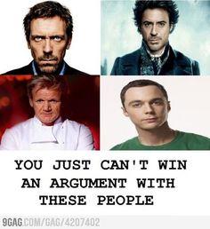 Soo true!! Their all to stubborn