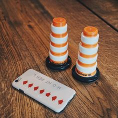 They say there are two seasons in Montreal: Winter and Construction. Add some seasoning to your kitchen's decor with these Montréal Construction Traffic Cones. Salt And Pepper, Nespresso, Montreal, Kitchen Decor, Coffee Maker, Fun, Salt N Pepper, Coffee Maker Machine, Fin Fun