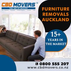 """Call Us Now 📲 0800 555 207 """"Are you looking for Best If yes, then Hire CBD Movers™ - Years in the Market - Client Satisfaction - Best And Reliable Furniture Removalists, Moving Furniture, Furniture Movers, House Removals, Auckland, 15 Years, New Zealand, United Kingdom, How To Remove"""